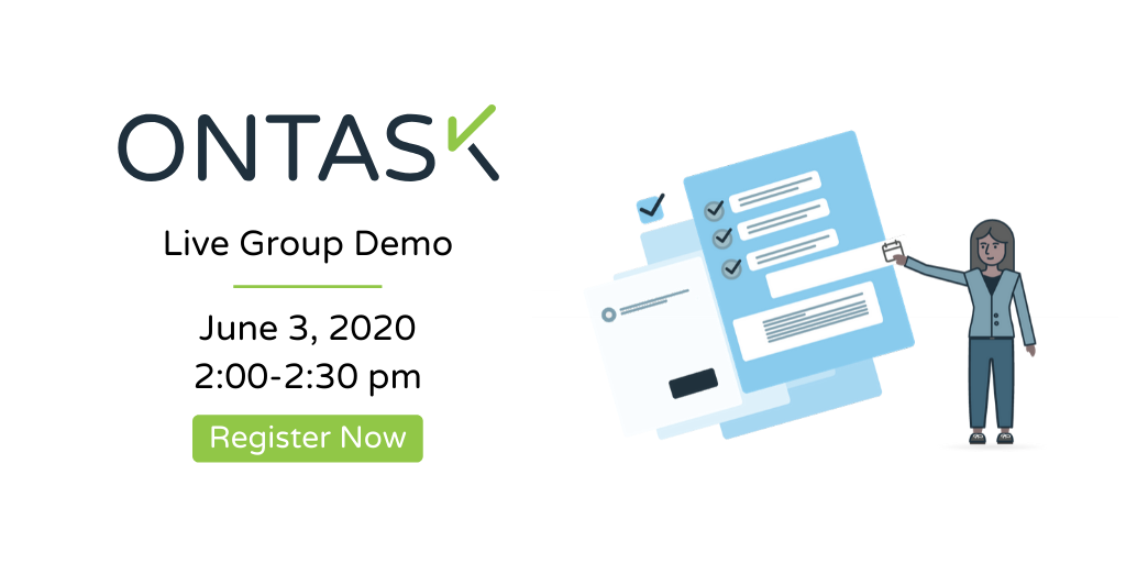 OnTask Live Demo June 3, 2020